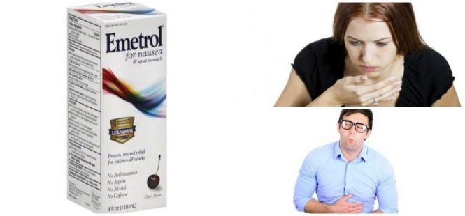 A prominent representative of the prokinetics group is emetrol (domperidone)